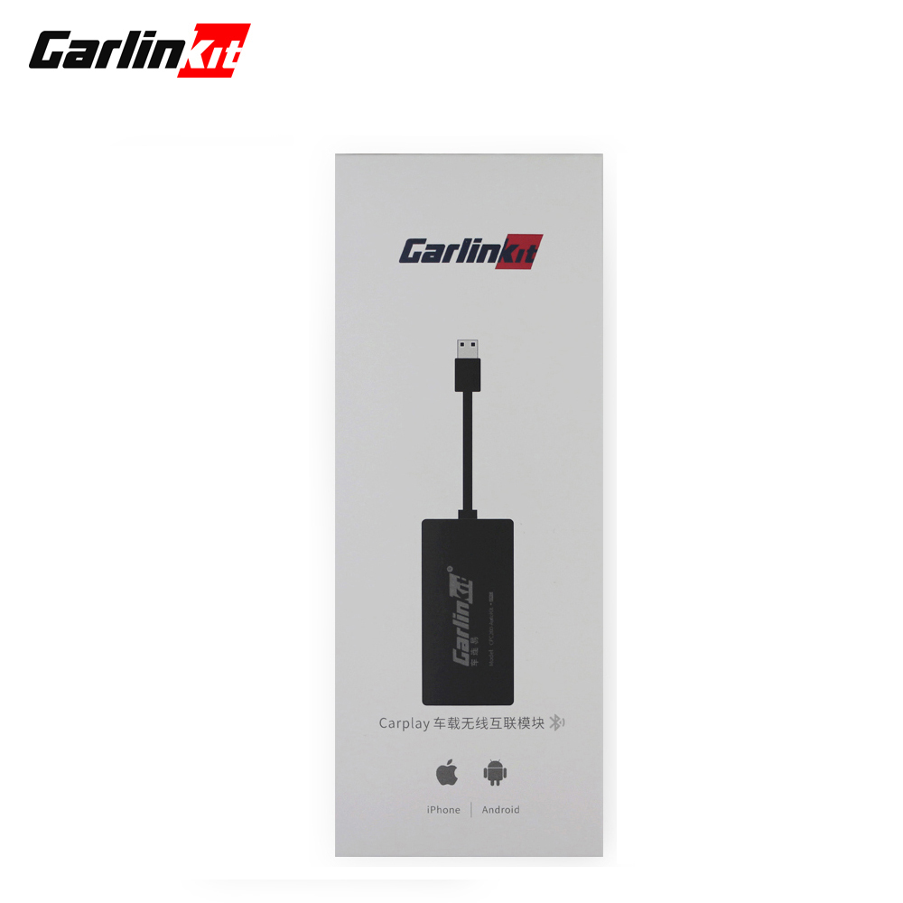 Carlinkit CarPlay Dongle pour lecteur de Navigation Android Mini USB Carplay Stick avec Android Auto