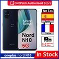 Глобальная версия OnePlus Nord N10 5G 6 ГБ 128 Гб Смартфон Snapdragon 690 90 Гц Дисплей 64MP Quad камеры Warp 30T NFC Nord 10 чехол для телефона