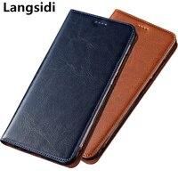 Genuine leather magnetic flip phone case card holder for OPPO Realme 5 Pro/Realme 5/Realme 5S/Realme 3 Pro/Realme 3 phone bag