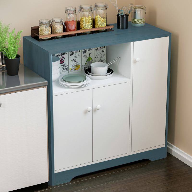 Sideboards Cabinet Simplicity Cabinet Multi-functional Equipment Sideboard Kitchen Cabinet Simple Tea Cabinet Free Combination E