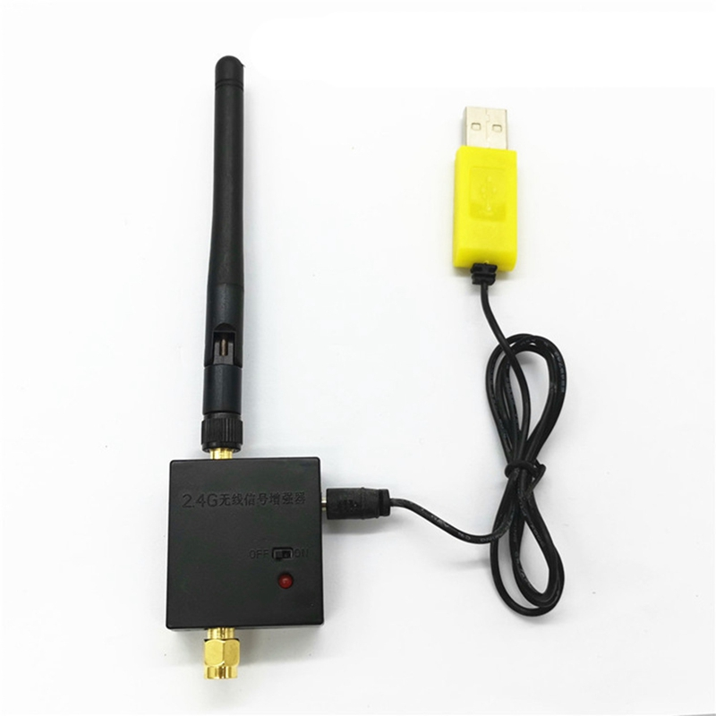 2.4G Radio Signal Amplifier Remote Control Signal Booster For RC Model Quadcopter Multicopter Drone