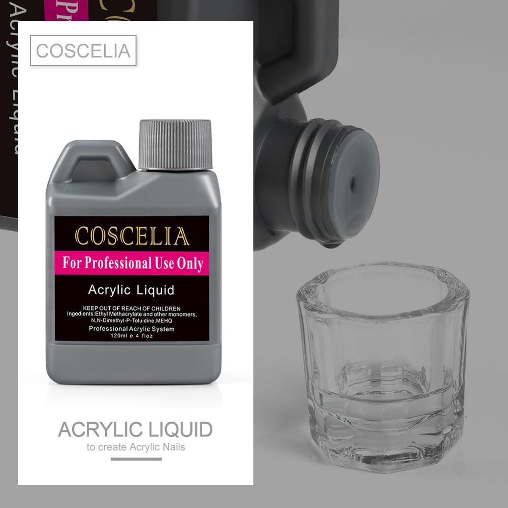 120ml Acrylic Liquid Powder Nail Art Tips Salon Professional Use Acrylic Liquid Manicure Liquid Acrylic Powder Nail Art Tools