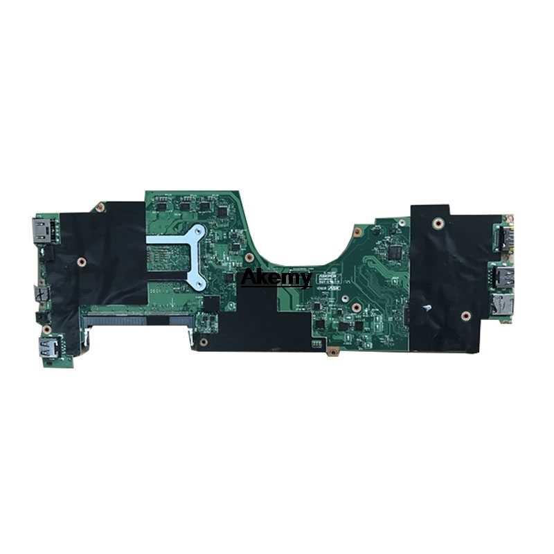 Akemy LA-E291P Rev 1A Papan Utama Cocok untuk ThinkPad Yoga 370 Papan Utama DDR4 CPU I3-7100U