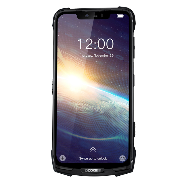 Newest DOOGEE  S90 Pro Android 9.0 Smartphone IP68 Rugged Mobile Phone Octa Core 6GB 128GB 6.18 FHD+ Display Helio P70  16MP