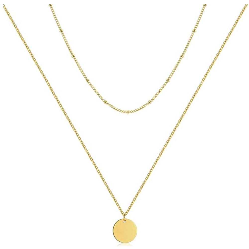 ZMZY – collier en acier inoxydable pour femmes, chaîne de cou, Punk mignon, Vintage, bijoux de clavicule
