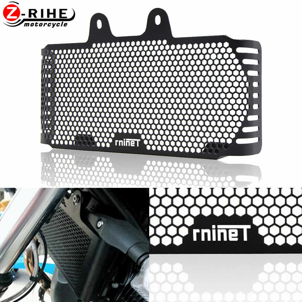 Motorcycle Accessories Radiator Grille Guard Cover Protection Oil Cooler Bike Parts for BMW R NINE T RNINET PURE 2017 2018 2019