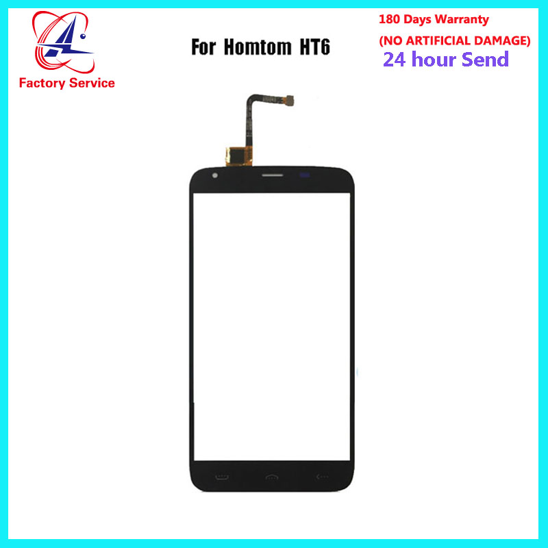 For <font><b>Homtom</b></font> <font><b>HT6</b></font> Touch <font><b>Screen</b></font> Glass Digitizer Panel Lens Sensor Glass +Tools 5.5 Inch wholesale in stock image