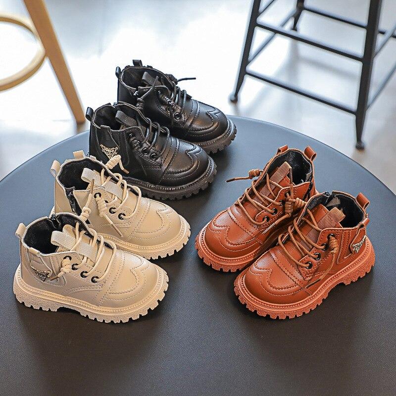 veludo sapatos, botas curtas impermeáveis para bebê