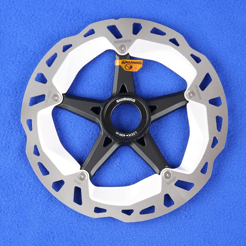 Shimano Deore XT SM-RT81 Disc Brake Rotor Centerlock Ice Technology 160mm 2pcs