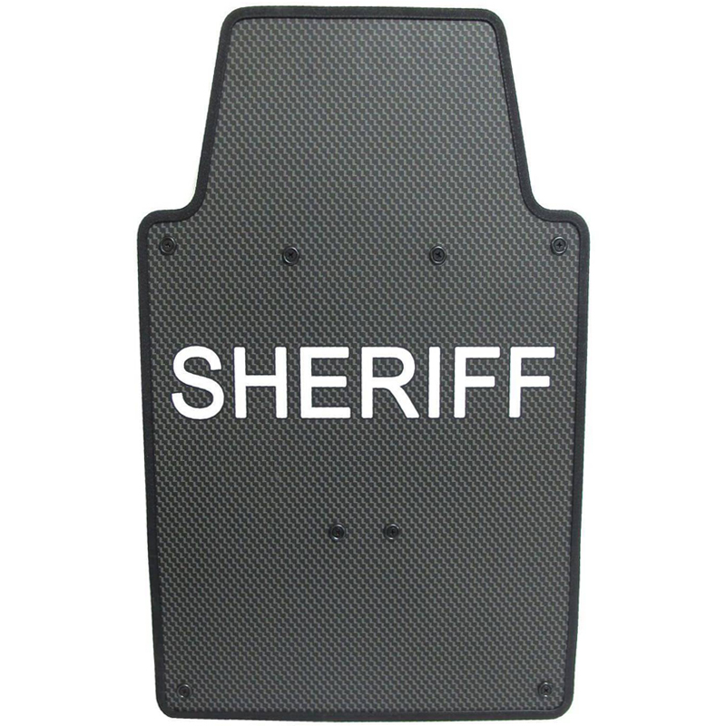 NIJ Level IIIA Police Lightweight Portable Bulletproof Polyethylene Armored Ballistic Tactical Shield