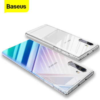 Baseus Clear Case For Samsung Galaxy Note 10 Plus Note10 Case Transparent Soft TPU Back Cover For Samsung Note 10 10Plus Fundas s style protective tpu back case for samsung galaxy note 3 n9000 white