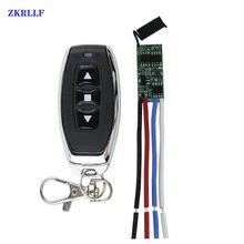 433mhz sem fio interruptor de controle remoto rf transmissor receptor 5v 9v 12v 1ch motor para a frente módulo controlador direção reversa