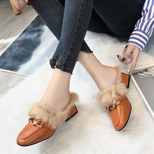 Winter Slippers Women Shoes Woman Warm plush Slippe