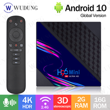 H96 mini v8 caixa de tv rk3228a quad core android 10.0 2gb 16gb 1080p 4k 3d 2.4ghz wifi h96mini smart tv conjunto caixa superior 1gb 8gb novo