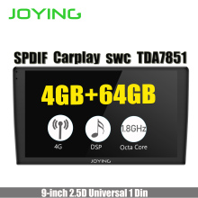 Joying Quad Core 82GB+32GB Double 2 Din Android 5.1.1 Head Unit For Toyota Corolla Car Radio Multimedia Player GPS Navigation joying 10 1 touch screen 2 din android 8 0 car radio px5 octa core 2gb 32gb gps navigation video out stereo audio fm am wifi