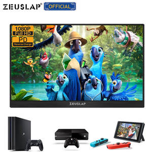 """Image 5 - ZEUSLAP 13.3"""" 15.6"""" HDMI TYPE C 1920*1080P HDR Portable Monitor For Macbook Samsung DEX Switch PS3 PS4 Xbox Raspberry Pi 3 B 2B"""