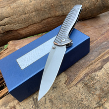Butterfly 781 aluminum alloy Handle D2 Steel Aluminum Handle Pocket  Knife Benchmade-Kesiwo Limited Edition AXIS
