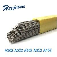 1 kg/lote 2.5mm-4mm 304 hastes de soldadura de aço inoxidável e308/a102/e316/a132/a302/a402/a412/e2209 eletrodo de soldagem