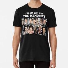 Camiseta obrigado-você-para-as memórias cameron boyce