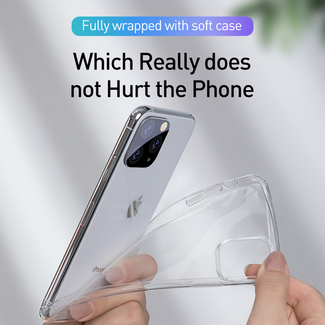 Ultra Thin Clear iPhone 11 Pro Max Case 1