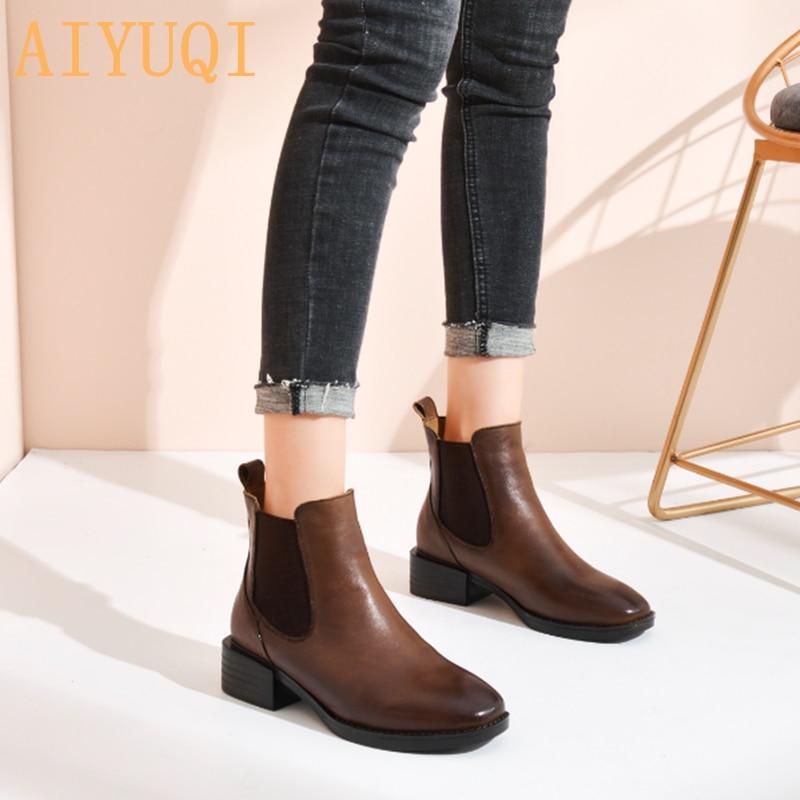 Fashion Short Boots Women Retro Ladies