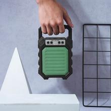 Przenośny Bluetooth głośnik Fm Mp3 na zewnątrz bezprzewodowy z Usb tf aux wejście Bluetooth przenośny sprzęt Audio przenośny głośnik tanie tanio CARPRIE Przenośne Pełny Zakres Metal NONE Baterii Brak Mini Guitar Amplifier AS SHOWN Inne