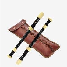 Альт рекордер германический и барокко 8 отверстий кларнет gaita F ключ вертикальные музыкальные инструменты, флейта gravador флейта funda flauta