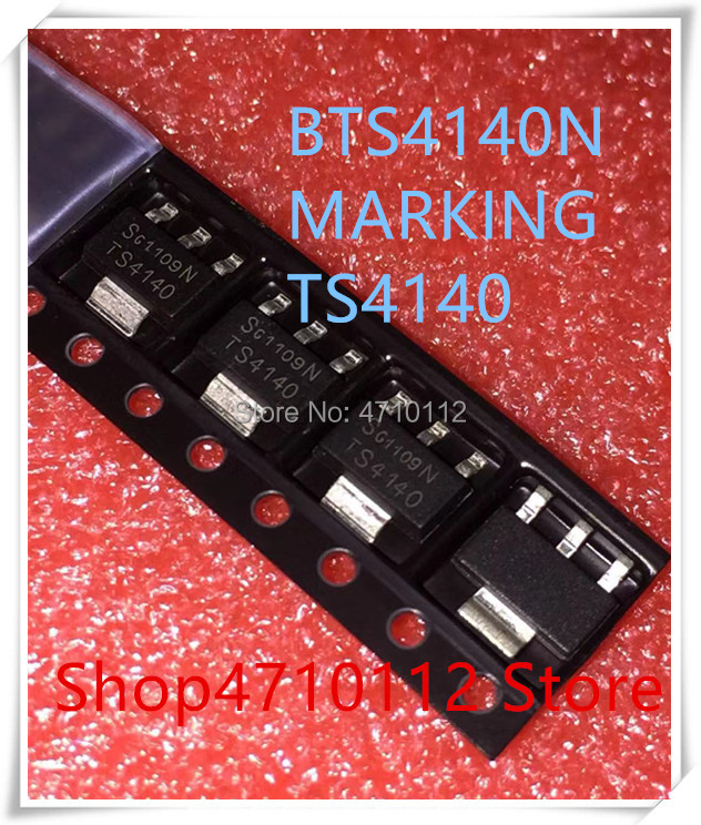 NEW 50PCS/LOT BTS4140N BTS4140 MARKING TS4140 SOT-223 IC