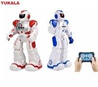 Умный робот с дистанционным управлением  датчиком жестов и зарядкой  для детей  для танцев  для боев  для защиты мальчиков  подарок  2019