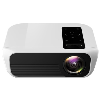 TOPRECIS T8 4K Full HD Projector Portable LED 4500 Lumens 1080p HDMI WIFI Same Screen LCD Cinema Home Theater Projector