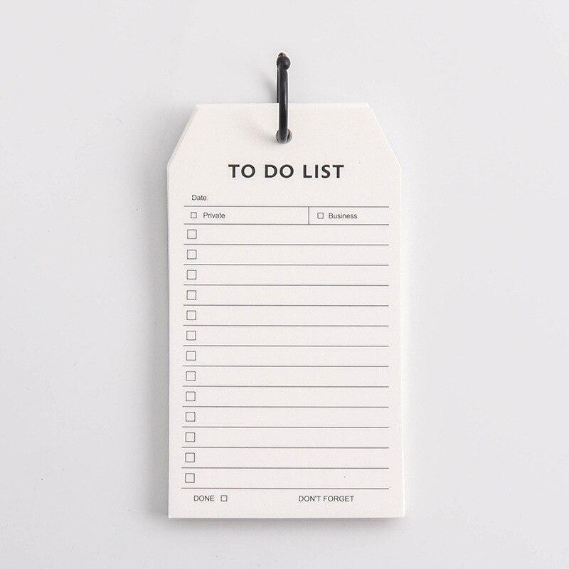 Чтобы сделать список ежедневных расписаний, блокнот для заметок, размер руки, свободные листы, блокноты для заметок, портативные офисные