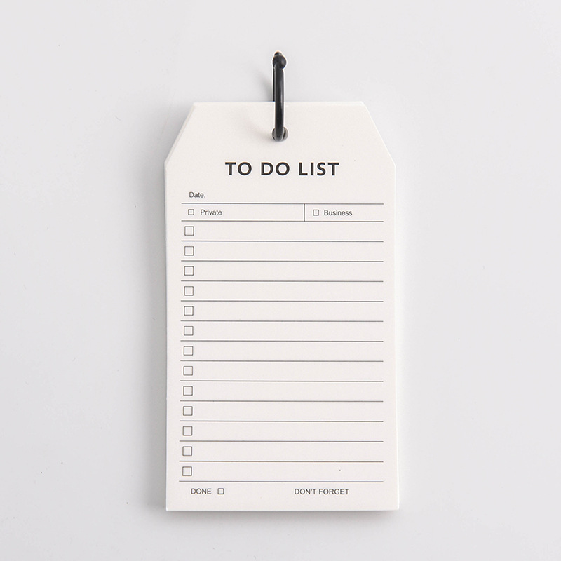 To Do List Daily Schedule Note Pad Hand Size Loose Leaf Memo Notes Pads Portable Office Stationery Papeleria