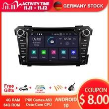 AVGOTOP Android 10 автомобильный dvd-плеер для HYUNDAI I40 2012-2014 IPS HD экран Navi автомобильное радио product image