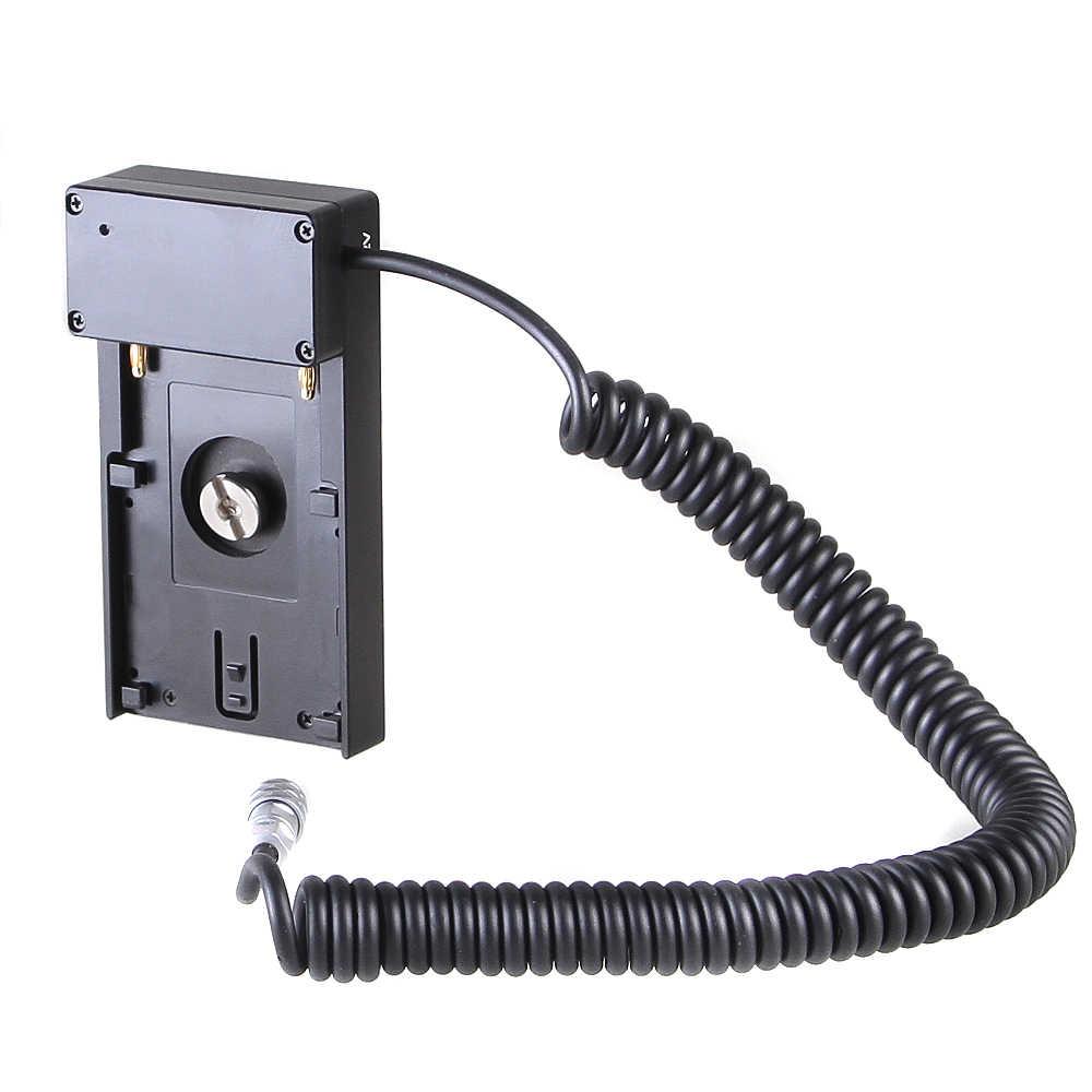 FOTGA 12V NPF база для батареи держатель адаптер пластина для BMPCC 4K BMPCC4K камеры NP-F970 F750 F550