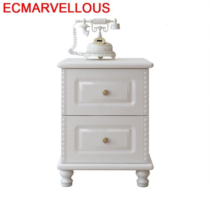 Recamaras Nachtkastje Veladores Meuble Maison European Wooden Quarto Cabinet Bedroom Furniture Mueble De Dormitorio Nightstand