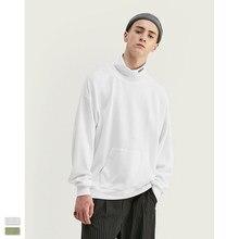Cooo Coll Mannen vrouwen hoge kraag sweatshirt hip hop oversize streetwear brief kanye west harajuku winter causale tops hoodies