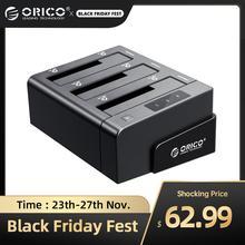ORICO 3 Bay USB 3,0 HDD Dock Station für 2,5 3,5 zoll SATA Festplatte HDD Unterstützung Klon Mit 12V5A Power Adapter Unterstützung 18TB