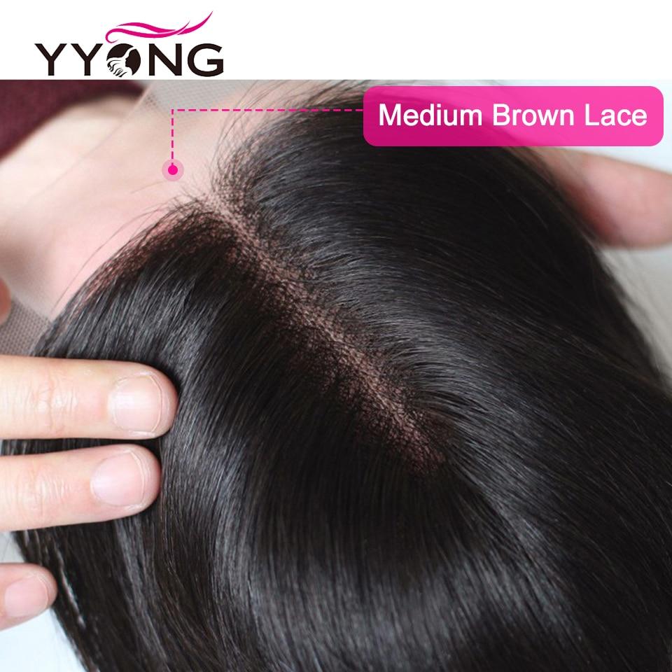 Yyong 3/ 4 Body Wave Bundles With Closure   Bundles With Lace Closure 4x4  Bundle With Closure 5