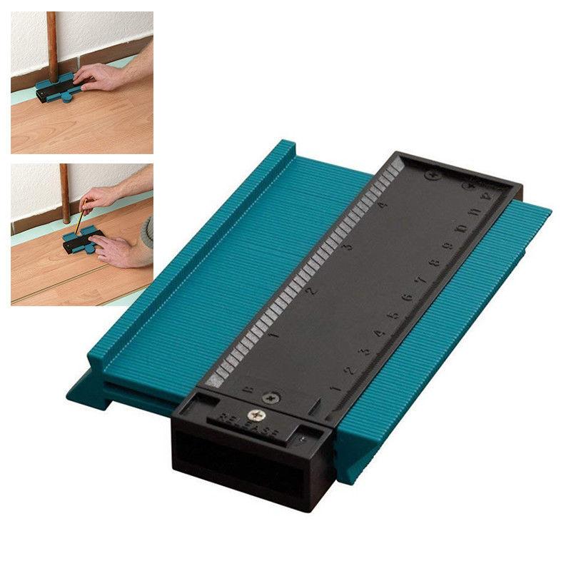 Multifunctional Woodworking Tools Plastic Shape Contour Duplicator Profile Gauge Tiling Laminate Tiles Edge Shaping