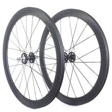 Bargain track bike Carbon wheels carbon fixed gear wheelset 38mm 50mm 60mm 88mm Front 60mm rear 88mm deal