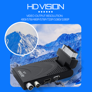 Image 5 - 2020 K7 DVB T2 karasal alıcı HD 1080P H.265 dekoder DVB T2 TV Tuner desteği USB WIFI dijital Set üstü kutusu alıcı