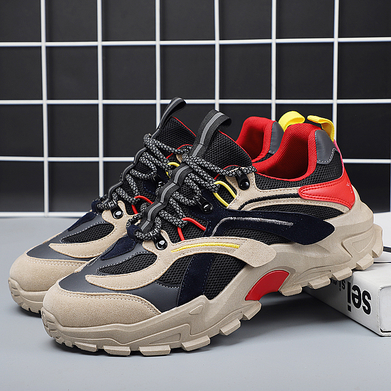 2020 New Men Casual Shoes Fashion Breathable Light Lace-up Sneakers Man Adult High Quality Comfortable Male Footwear Shoes 39-44