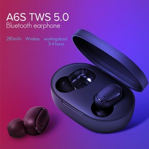 Image 1 - TWS A6s Auriculares Bluetooth 5.0 Mini Headset for Redmi Airdots True Wireless Earbuds Running Earphone for Samsung Mi Air Dods