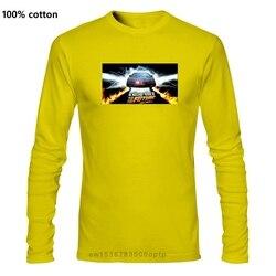 Knight Rider To The Future Movie Mens Tshirt Men Streetwear 2019 T Shirt Gym King T Shirts 100% Cotton T-Shirt Black Top