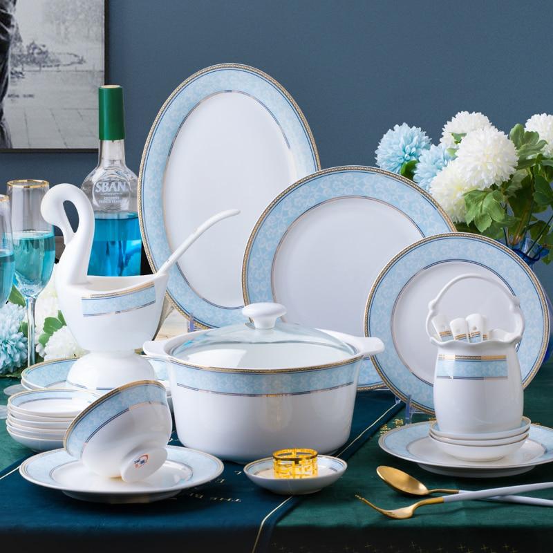 60 Heads ceramic tableware Dish