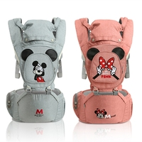 Disney Baby Carrier Ergonomic Toddler Backpack Hip Seat For Newborn Baby Backpacks Kangaroos Breathable Front Facing Carriers