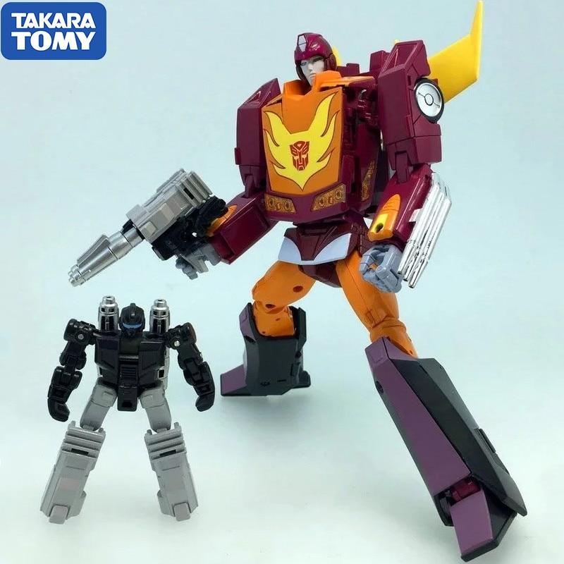 Takara Tomy Transformers Master Piece MP-40 Hot Rodimus Hot Rod Robot Car Transformation Figure Action Kids Gifts