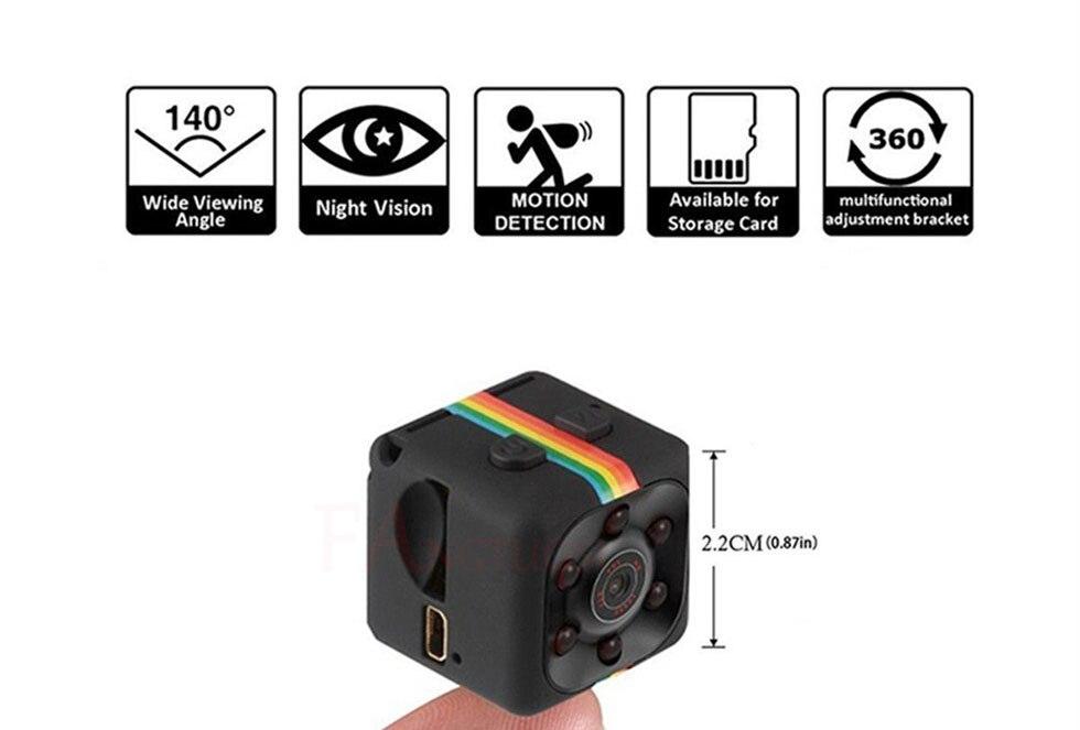 2019 neue sq11 Mini Kamera HD 960P Sensor Nachtsicht Camcorder Motion DVR Micro Cam Sport DV Video 480P kleine SQ 11