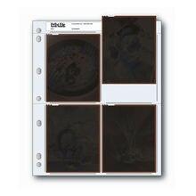 25 adet 45 4B baskı dosya 4x5 inç negatif sayfa kollu Film arşiv koruyucular