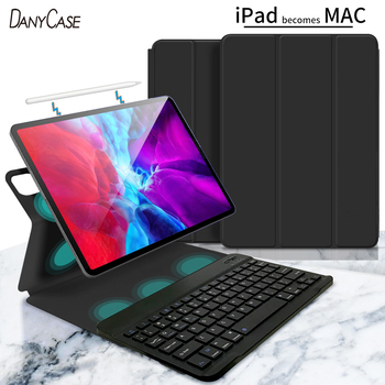 Magic Case with Keyboard For 2020 iPad Pro 11 For 2018 iPad Pro 11 inch Bluetooth Wireless Keyboard Magnetic iPad 12.9 Cover